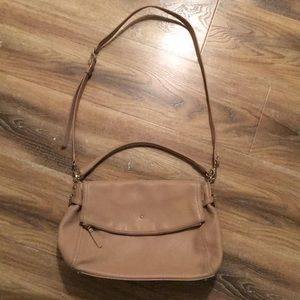 Kate Spade Tan Leather Hobo Bag